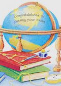 Passing Exams - Books and Globe